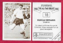 England Duncan Edwards Manchester United 18